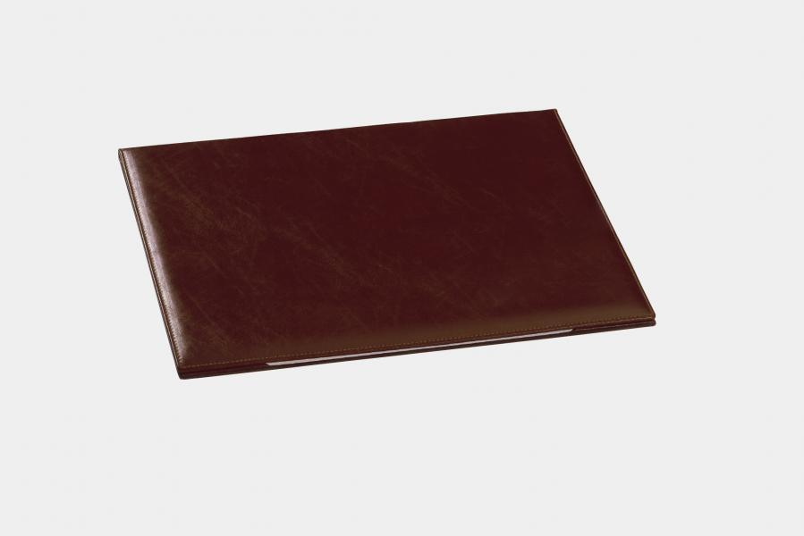 "Double desk pad in ""by Cast"" leather"