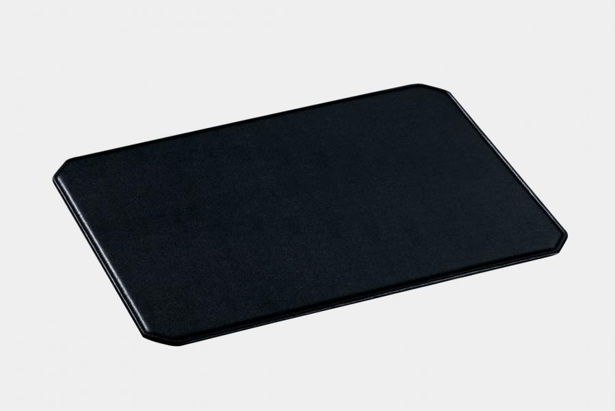 "Flat octagonal desk pad in leatherette ""Teolo"""