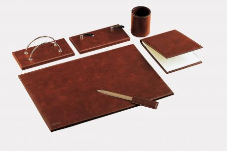 "6-pcs desk set in leatherette ""Teolo"""
